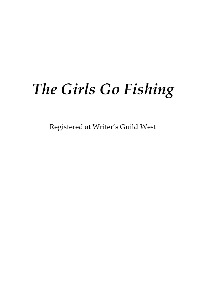 Girls Go Fishing Title Page