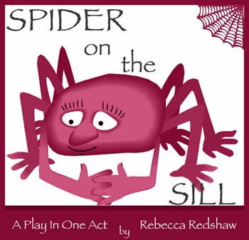 Spider On The Sill by Rebecca Redshaw