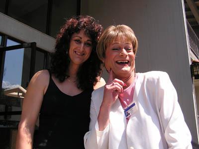 Julia and Suzanne Adams