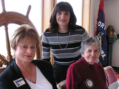 Rotary Speakers - Suzanne Adams & Karen Williams with Natalie Spiegel, Rotary Secretary